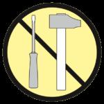 Ne JAMAIS modifier les composants d'un appareil ou raccourcir une élingue non-équipée d'un système approprié !