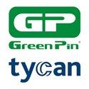 Green pin tycan